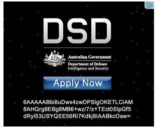 DSD - Apply Now advertisement